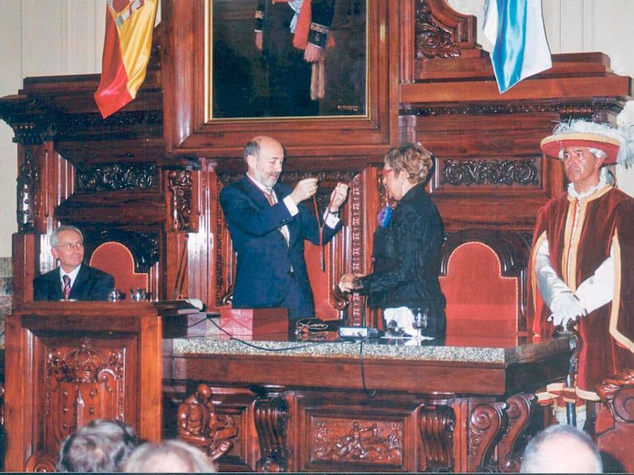 Doña Rosalía Mera Goyenechea