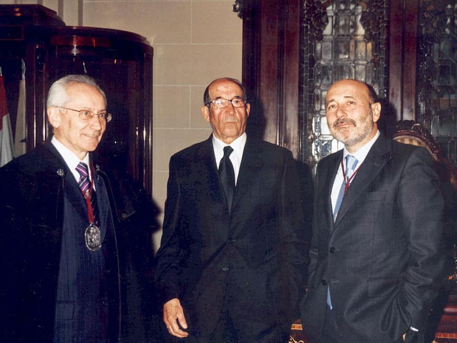 Caballero de Honor 2008 D. José Manuel Liaño Flores Ex-Alcalde de A Coruña Juez jubilado